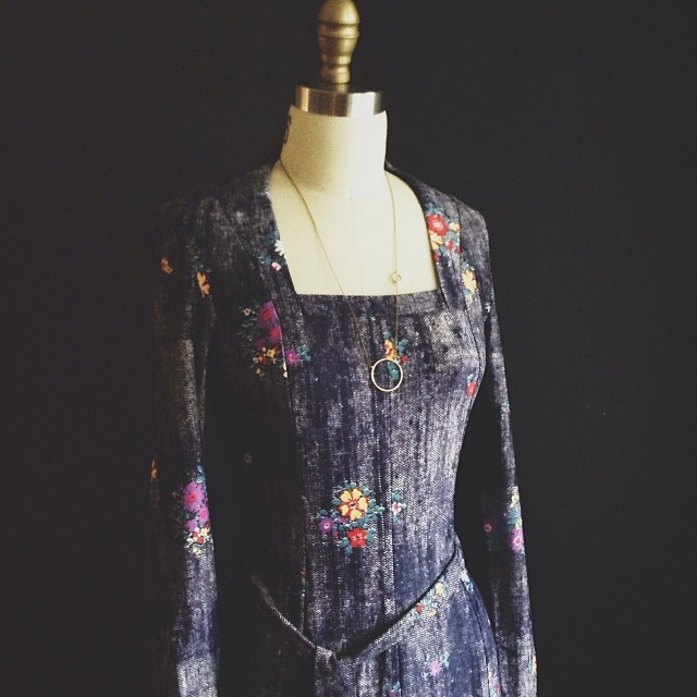 70's Renaissance Dress