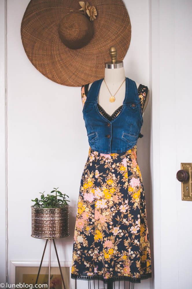 lune vintage shop ootd denim waistcoat (1 of 3).jpg
