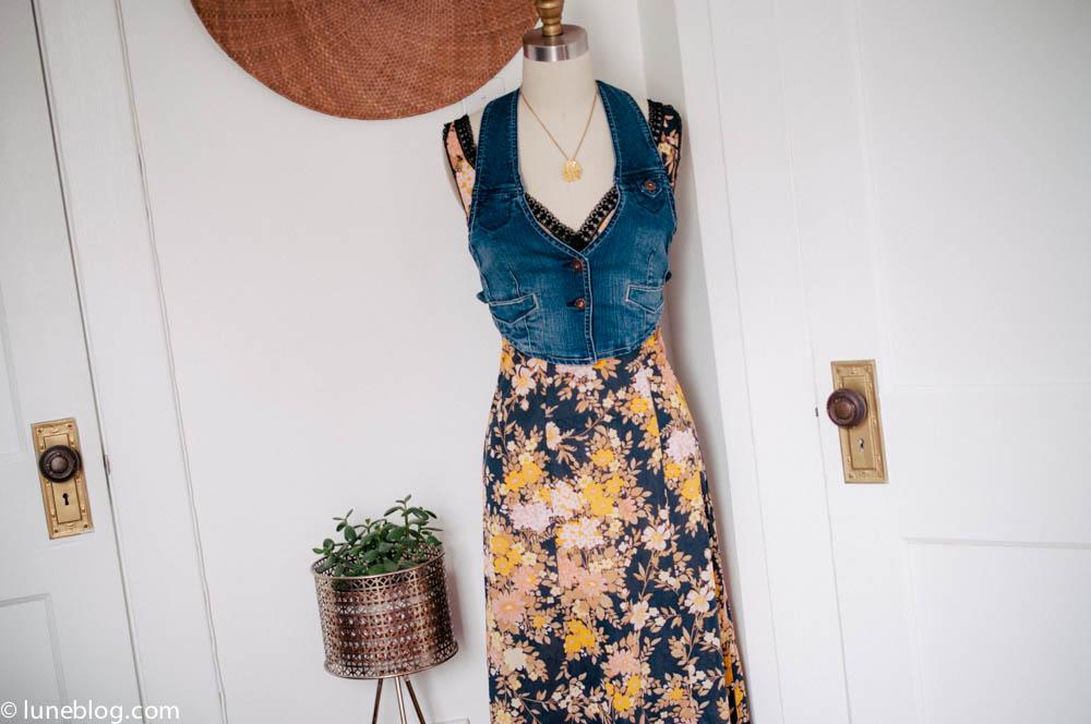 lune vintage shop ootd denim waistcoat (2 of 3).jpg
