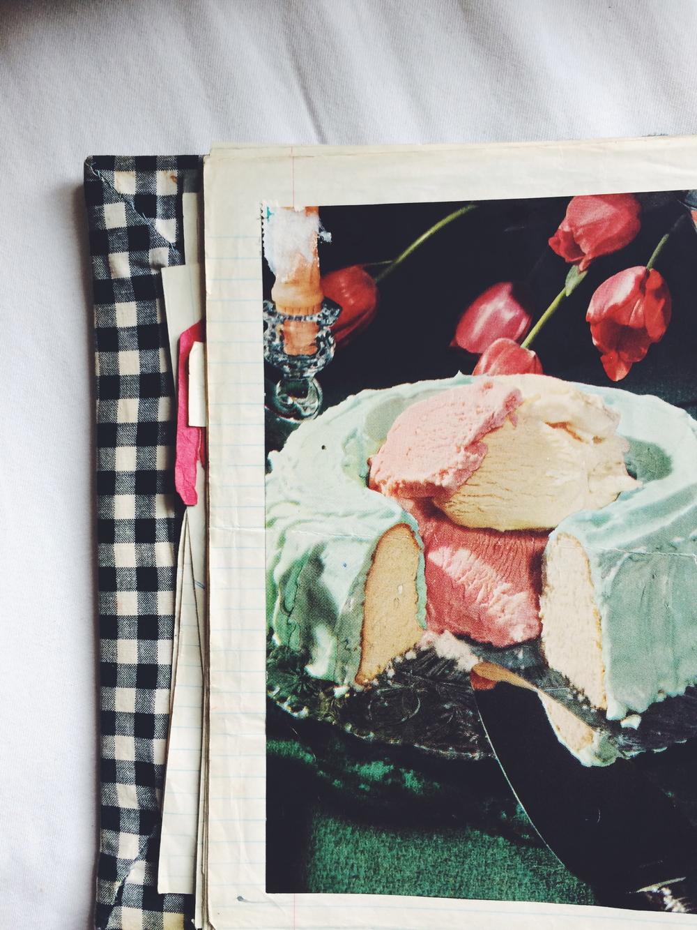 home ec book lune vintage