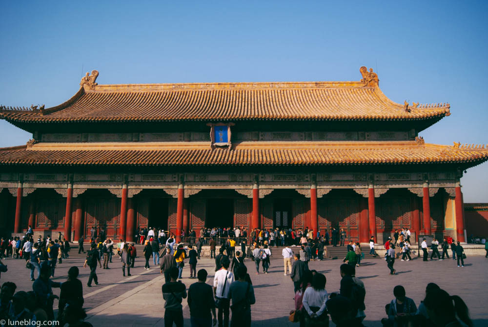 Entrance gate to the Forbidden City, no commoners allowed in.