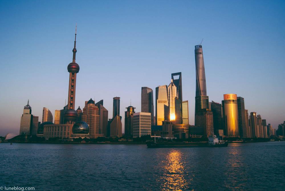 Metropolitan Shanghai by day.