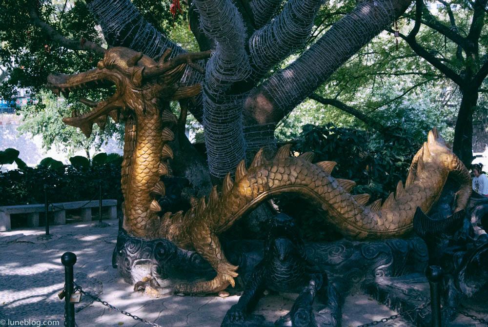 Gui Lin's Elephant Park dragon.