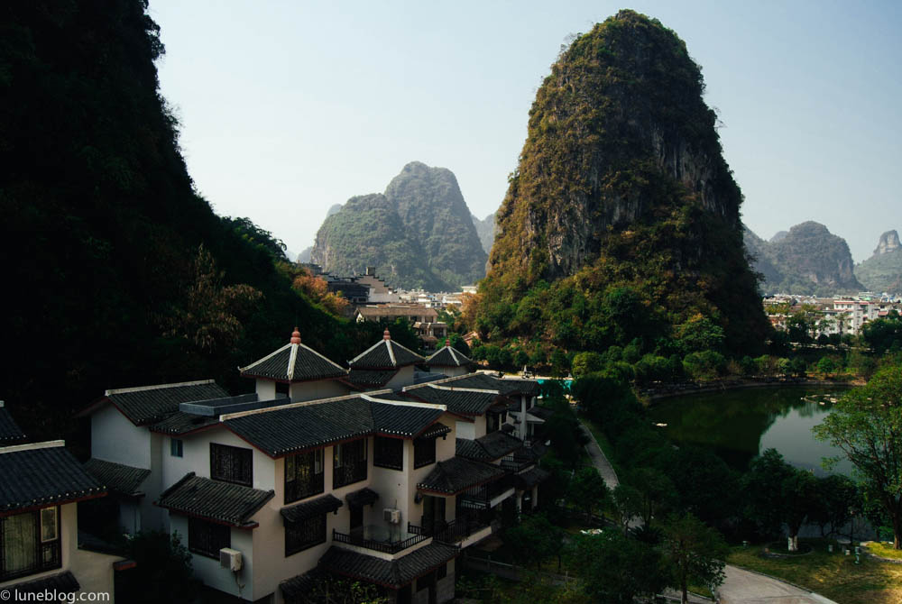 A lifetime must see! The Karst limestone outcrops at Gui Lin - once an ancient sea bed, now wonderous to look at while on the Li River