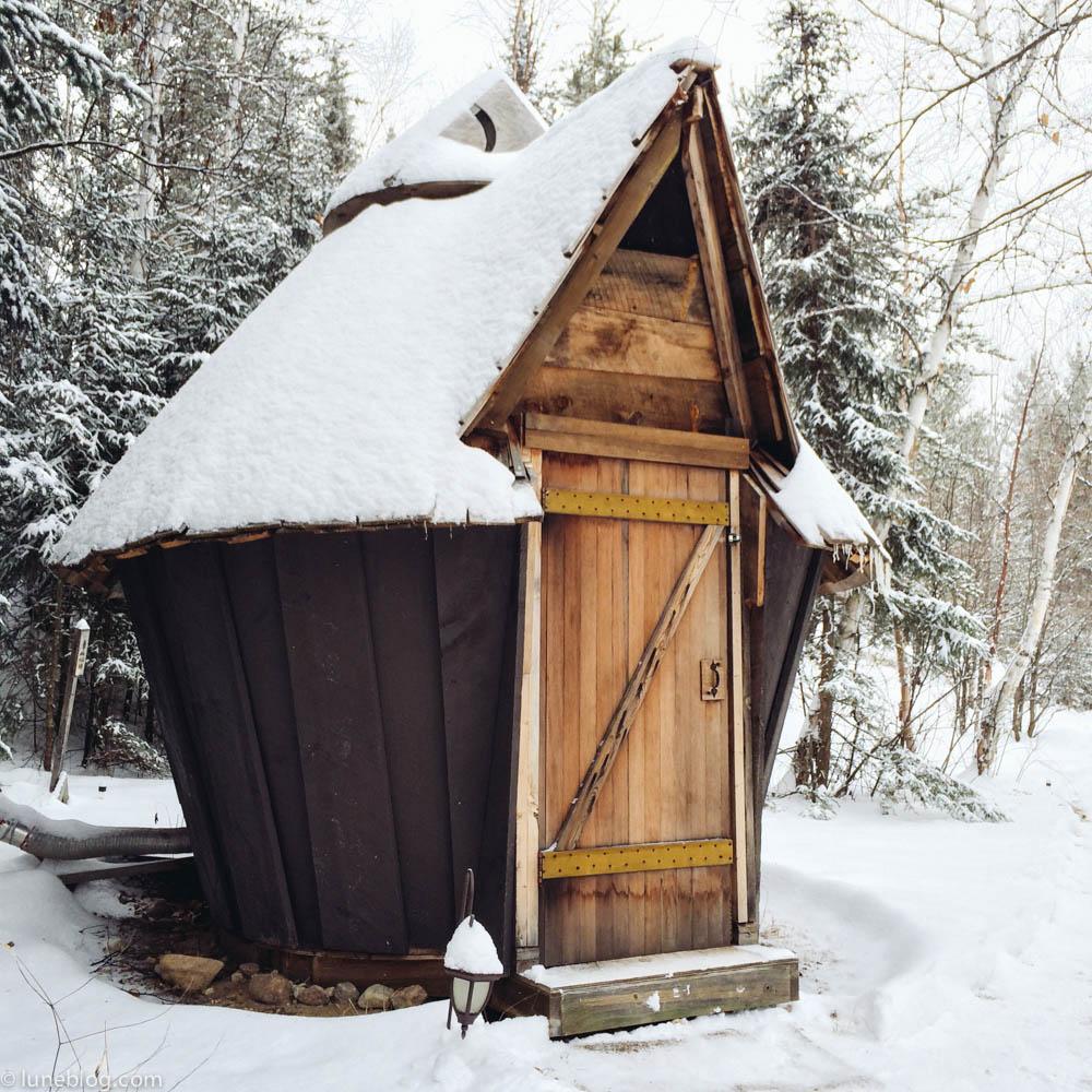 Inside our Yurt in Minaki , Ontario — lune travels blog