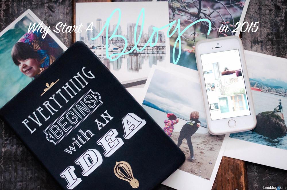 start a blog in 2015