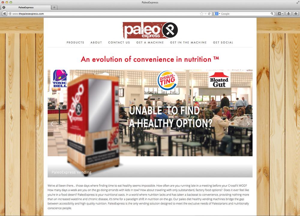 The PaleoExpress website