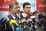 Click photo to download. Caption: Mohamed Morsi. Credit: Jonathan Rashad.