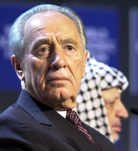 Click photo to download. Caption: Shimon Peres. Credit: World Economic Forum.
