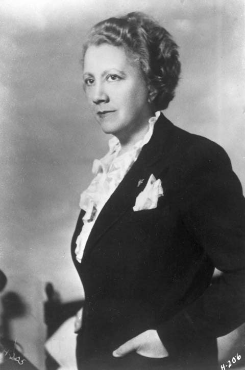 Irma Lindheim. Credit: Hadassah, The Women's Zionist Organization of America.