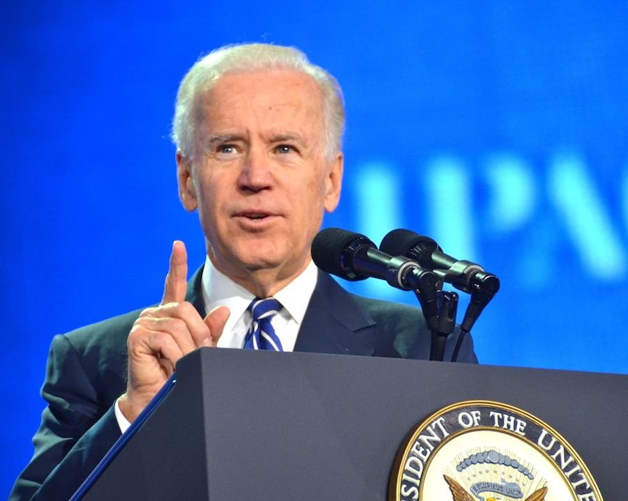 "Vice President Joe Biden at the recent AIPAC conference said, ""No President has done more to protect Israel than Obama."" Credit: Maxine Dovere."