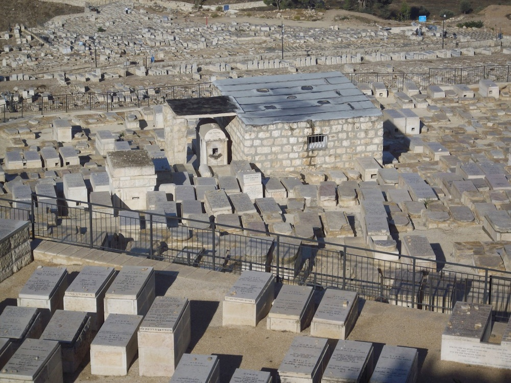 The Mount of Olives cemetery. Credit: Wikimedia Commons.