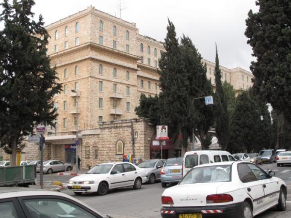 Click photo to download. Caption: Jerusalem's King David Hotel. Credit: Zeev Zamir via Wikimedia Commons.