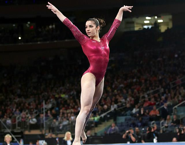Aly Raisman. Credit: Facebook.