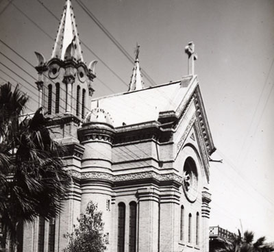 The Latin Church in Baghdad, Iraq. Credit: Bezaz/Wikimedia Commons.
