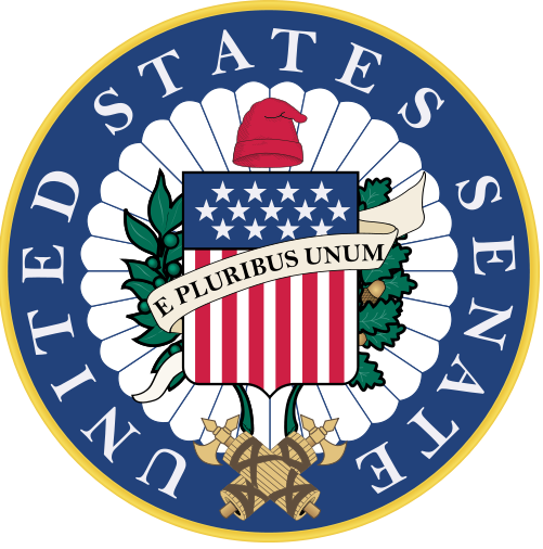 The U.S. Senate seal. Credit: Wikimedia Commons.