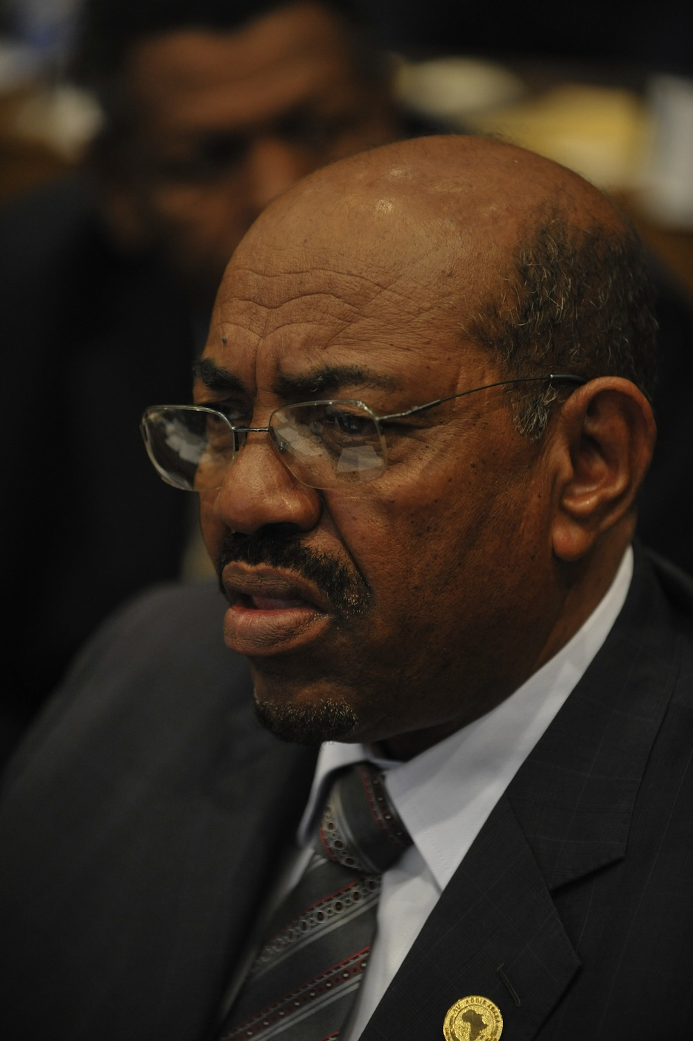 "Click photo to download. Caption: In time for this year's Holocaust Remembrance Day (Yom HaShoah), energetically chasing down modern war criminals such as Sudanese President Omar al-Bashir (pictured) is part of saying ""never again"" and meaning it, writes JNS.org columnist Ben Cohen. Credit: U.S. Navy."