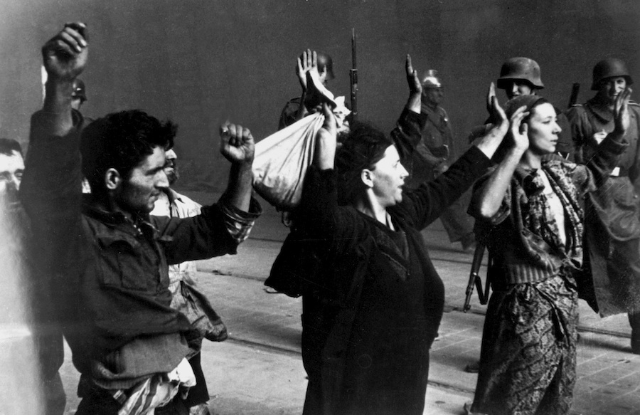 The Warsaw Ghetto Uprising. Credit: Wikimedia Commons.