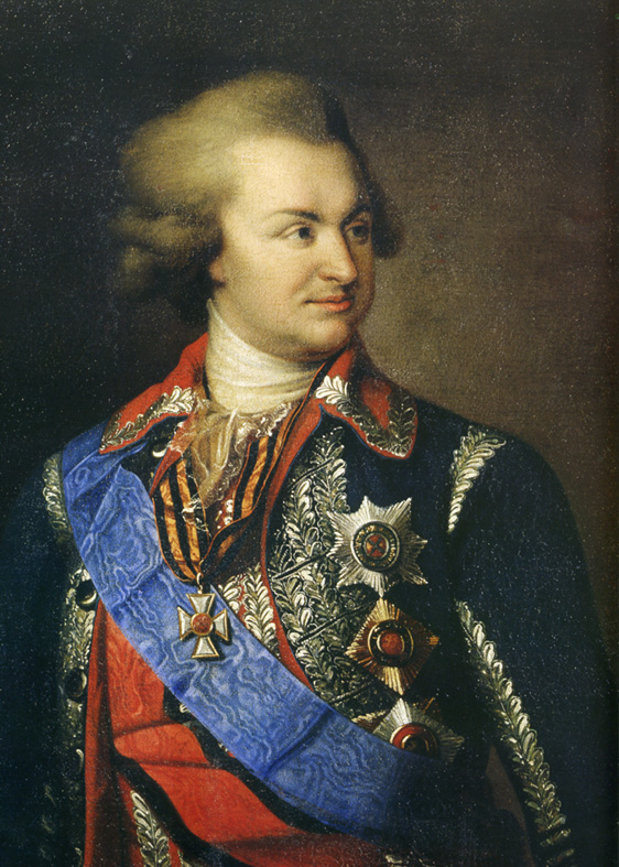 "Click photo to download. Caption: Grigory Alexandrovich Potemkin, a Russian cabinet minister, is said to have constructed fake villages to impress the Czarina Catherine II during her visit to the Crimea in 1787 just like the Palestinian Authority recently removed a monument showing all of Israel as ""Palestine"" from the travel route of U.S. President Barack Obama. Credit: Wikimedia Commons."