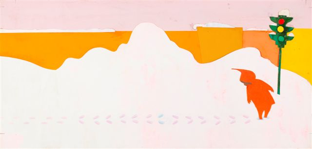 """The Snowy Day,"" by Ezra Jack Keats, 1962. Credit: Ezra Jack Keats Foundation"