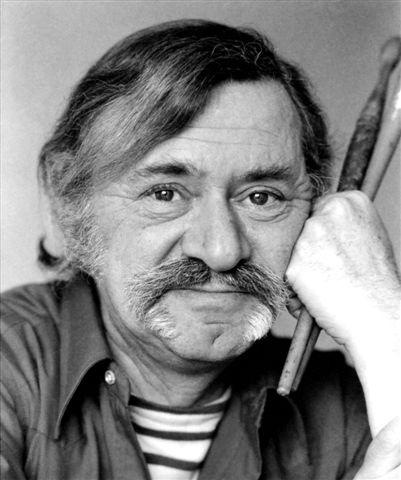 Ezra Jack Keats in 1973. Credit: Beverly Hall.