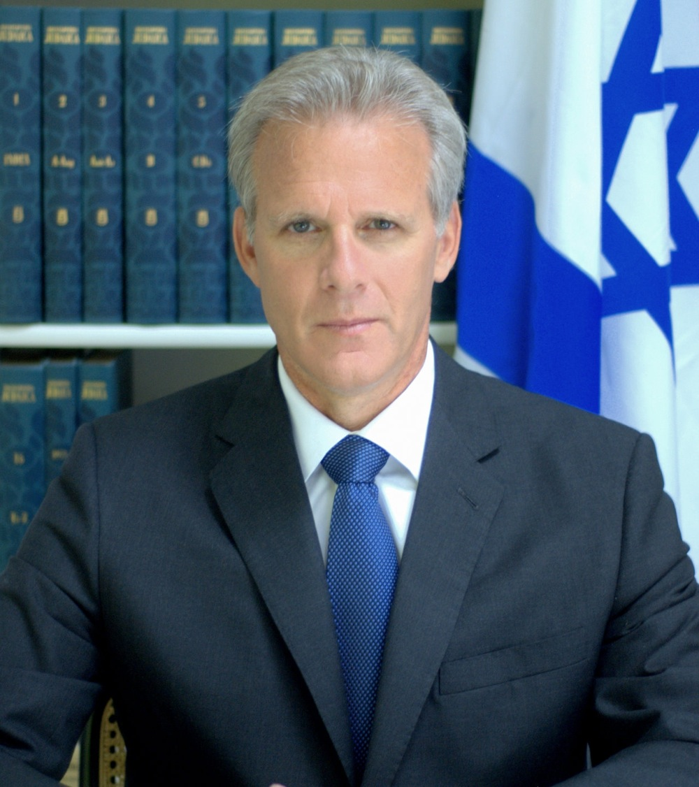 Israel's ambassador to the U.S., Michael Oren. Credit: Anne Mandlebaum.