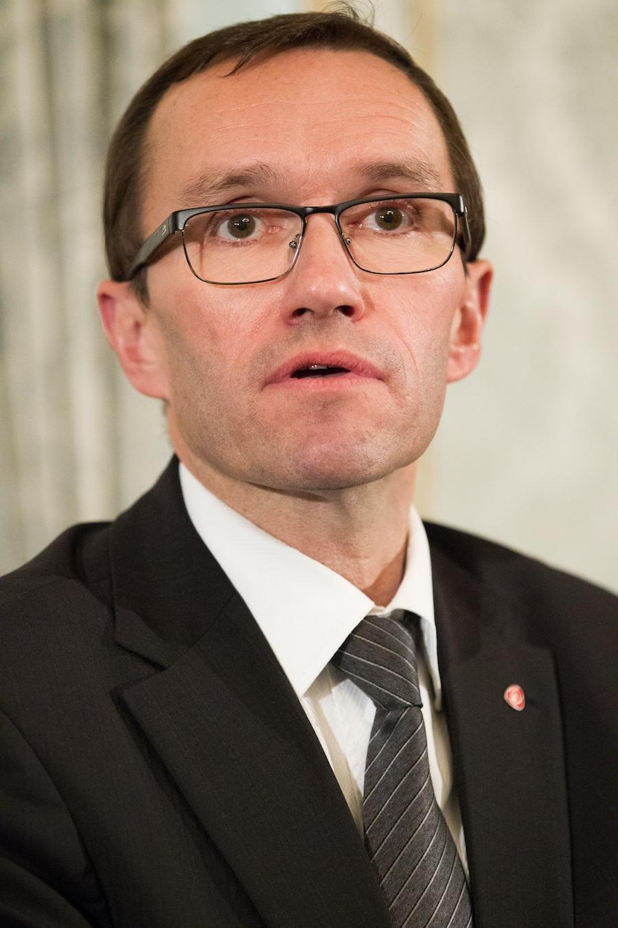 Norwegian Foreign MinisterEspen Barth Eide. Credit:Magnus Fröderberg.