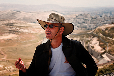 Click photo to download. Caption: Archaeologist and tour guide Danny Herman takes his tour groups to ancient Jewish heritage sites, many of which he had a part in excavating. Courtesy of Danny Herman.