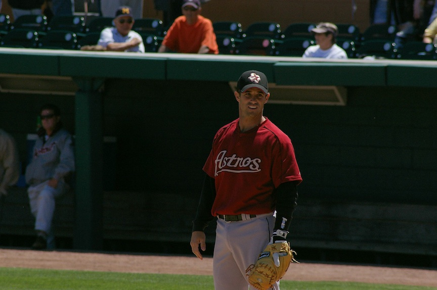 Click photo to download. Caption: Former Major League catcher Brad Ausmus. Credit: Adam Baker.