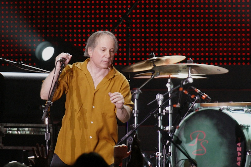 Click photo to download. Caption: Paul Simon in 2008. Credit: dbking.