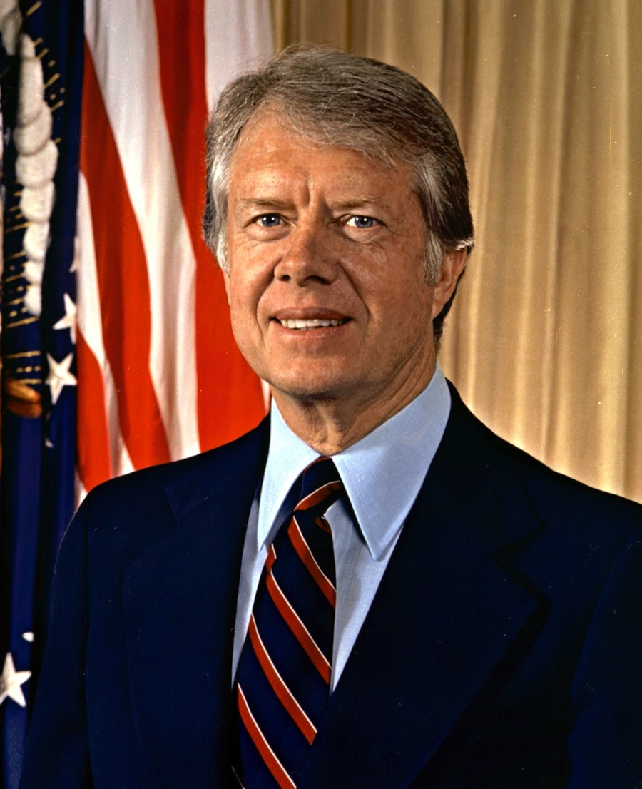Former President Jimmy Carter. Credit: Department of Defense.