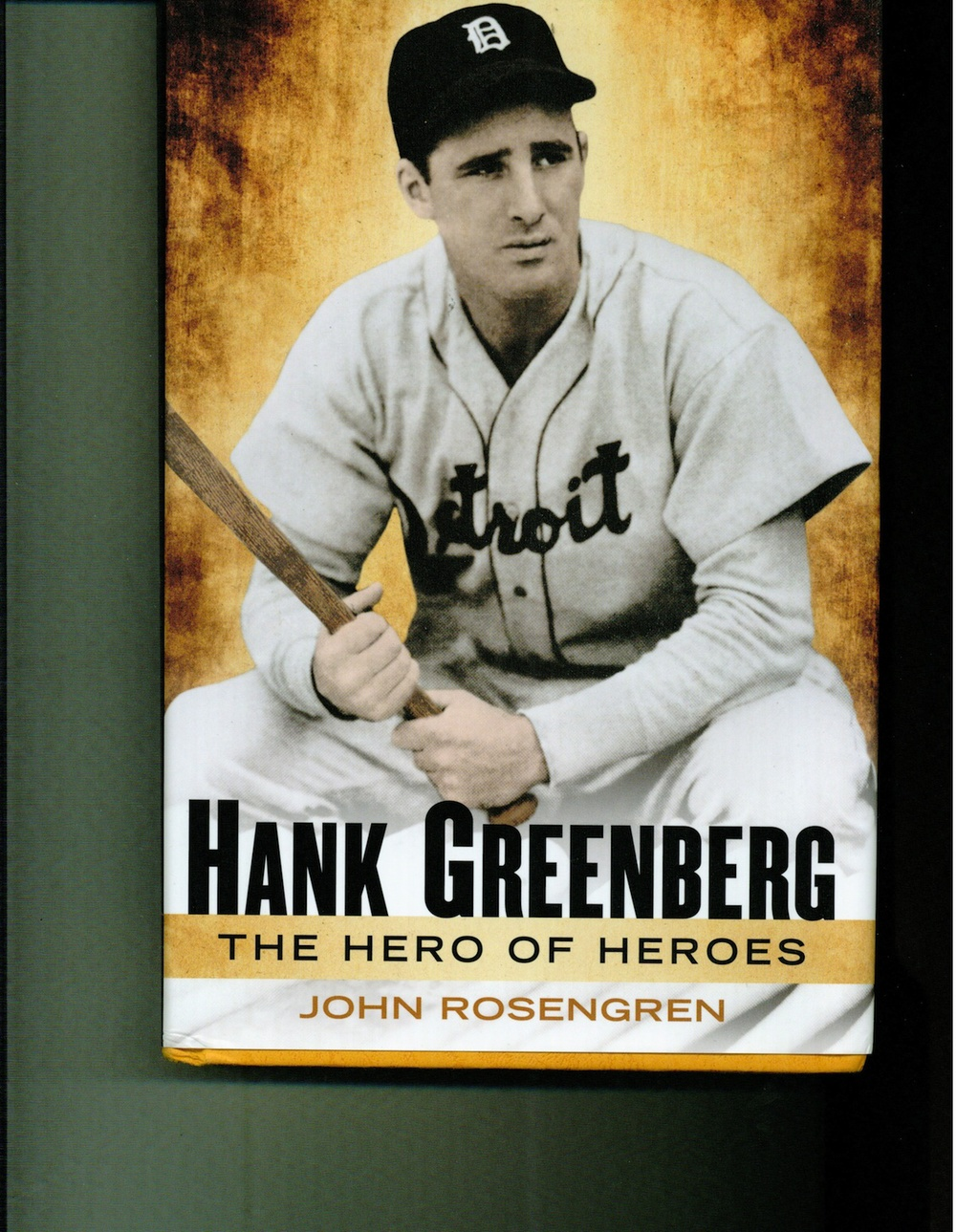 Click photo to download. The cover of Hank Greenberg: The Hero of Heroes. Credit: Penguin Group.