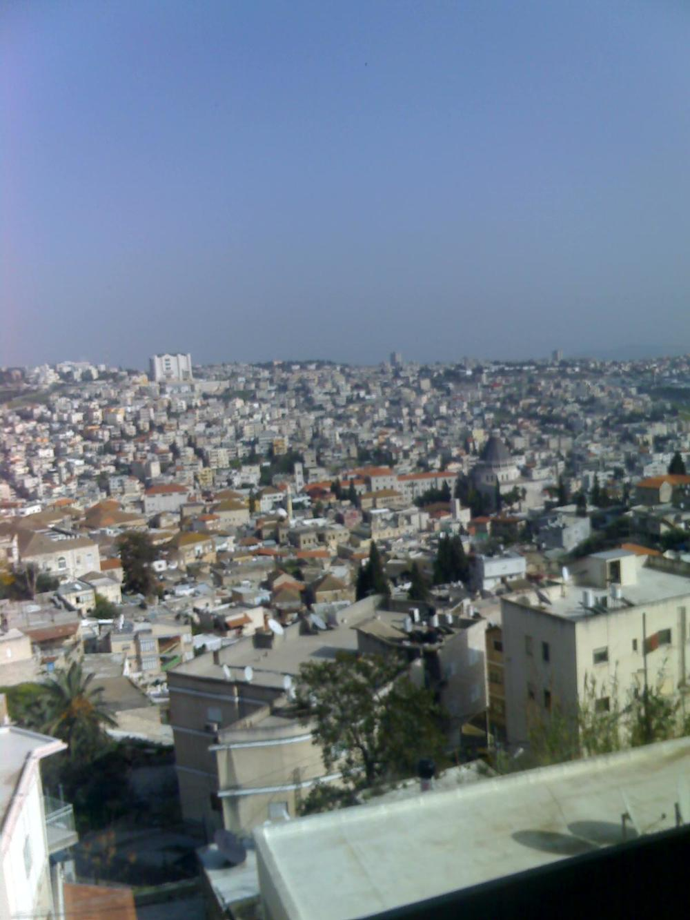 A view of Nazareth. Credit: Wikimedia Commons.