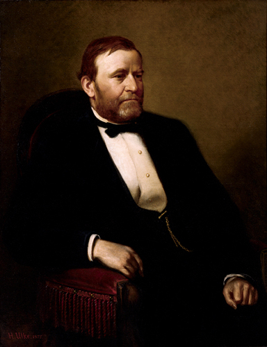 Click photo to download. Caption: The official White House portrait of Ulysses S. Grant. Credit: PD.