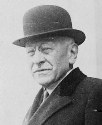Click photo to download. Caption: Sears President Julius Rosenwald was known for his philanthropy, and relationship with the black community.