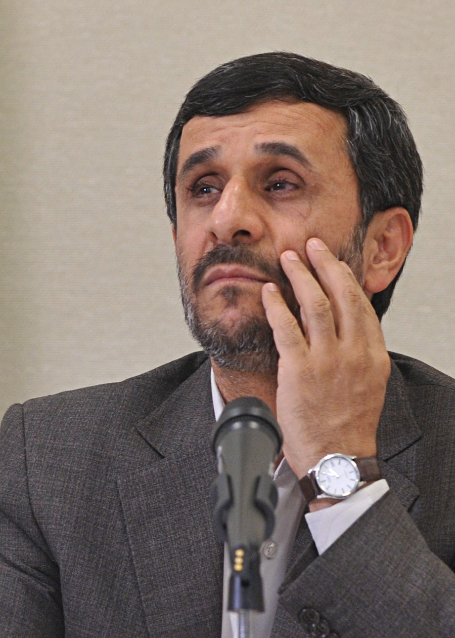 Click photo to download. Caption: Mahmoud Ahmadinejad. Credit: PD.