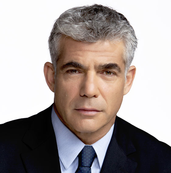 Click photo to download. Israel political party Yesh Atid leader Yair Lapid was listed as one of Time's most influential people. Credit: Wikimedia Commons.