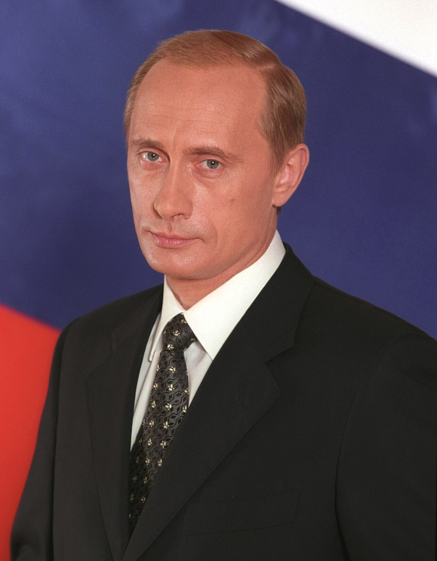 Click photo to download. Caption: Vladimir Putin. Credit: Presidential Press and Information Office.