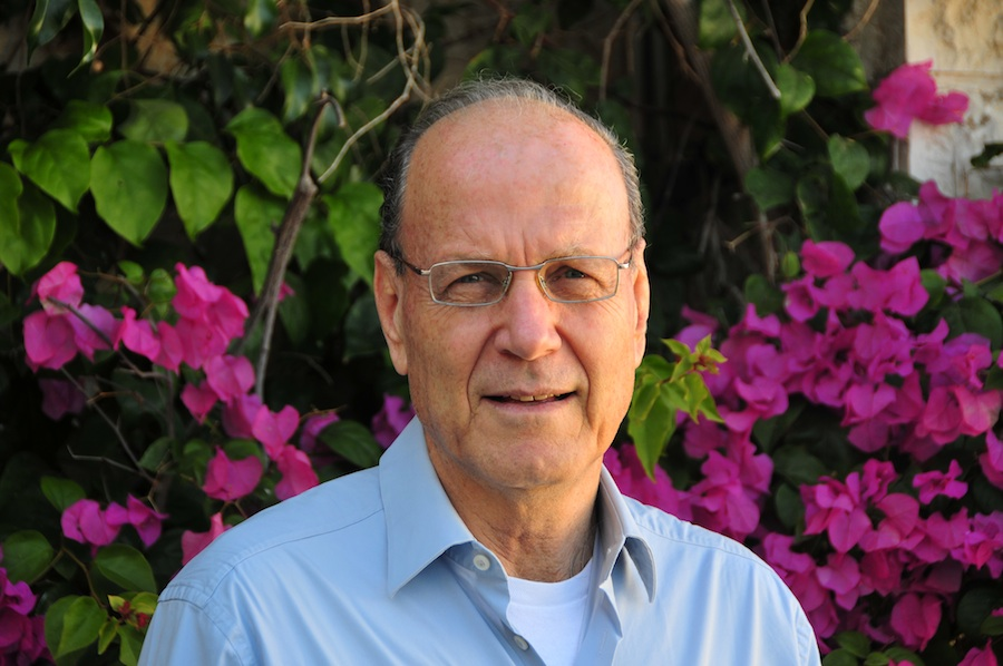 Click photo to download. Caption: Yoram Ettinger, pictured, writes that the Israeli economy has defied a meltdown at 65 and demonstrated remarkable stability in the face of a global financial crisis.
