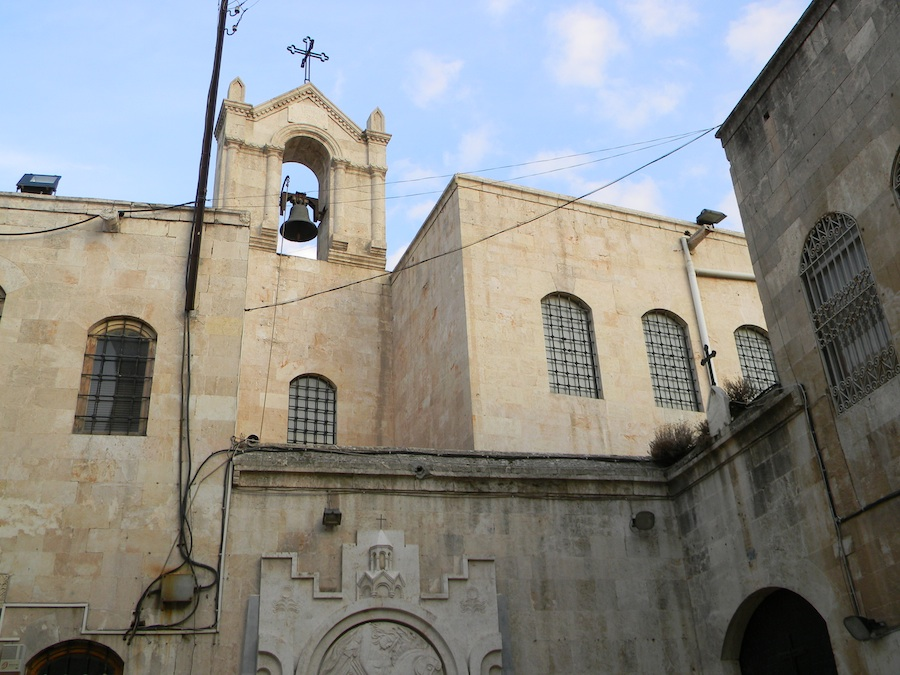 The Dormition of Our Lady Greek Orthodox church in Aleppo, Syria. Credit: Wikimedia Commons.