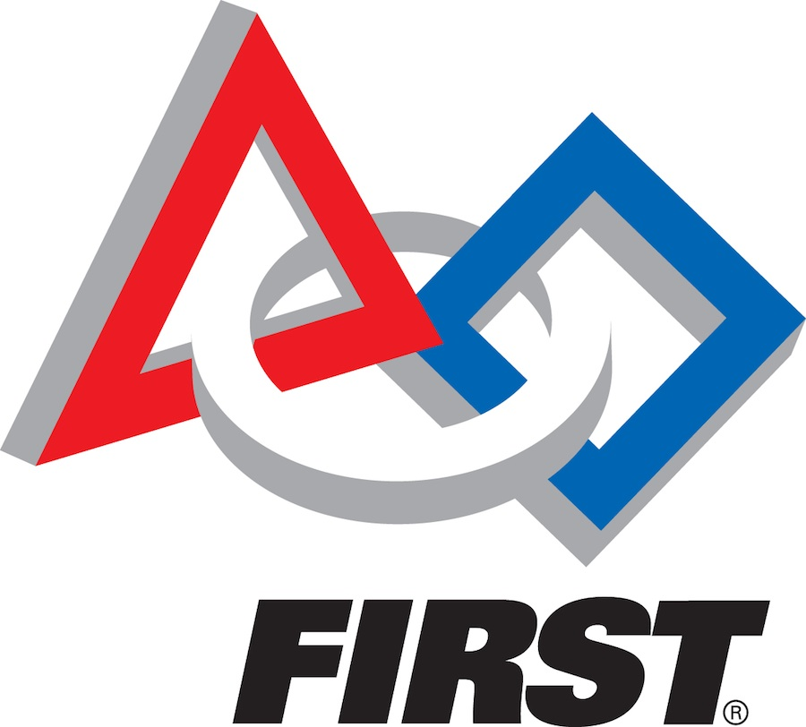 Click photo to download. Caption: The FIRST (For Inspiration and Recognition of Science and Technology) logo. Credit: FIRST.