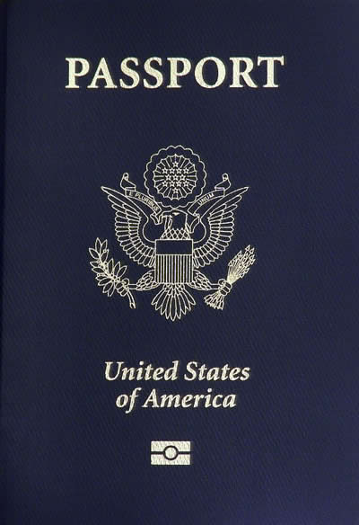 Click photo to download. Caption: A U.S. passport. Credit: Robert Rexach.