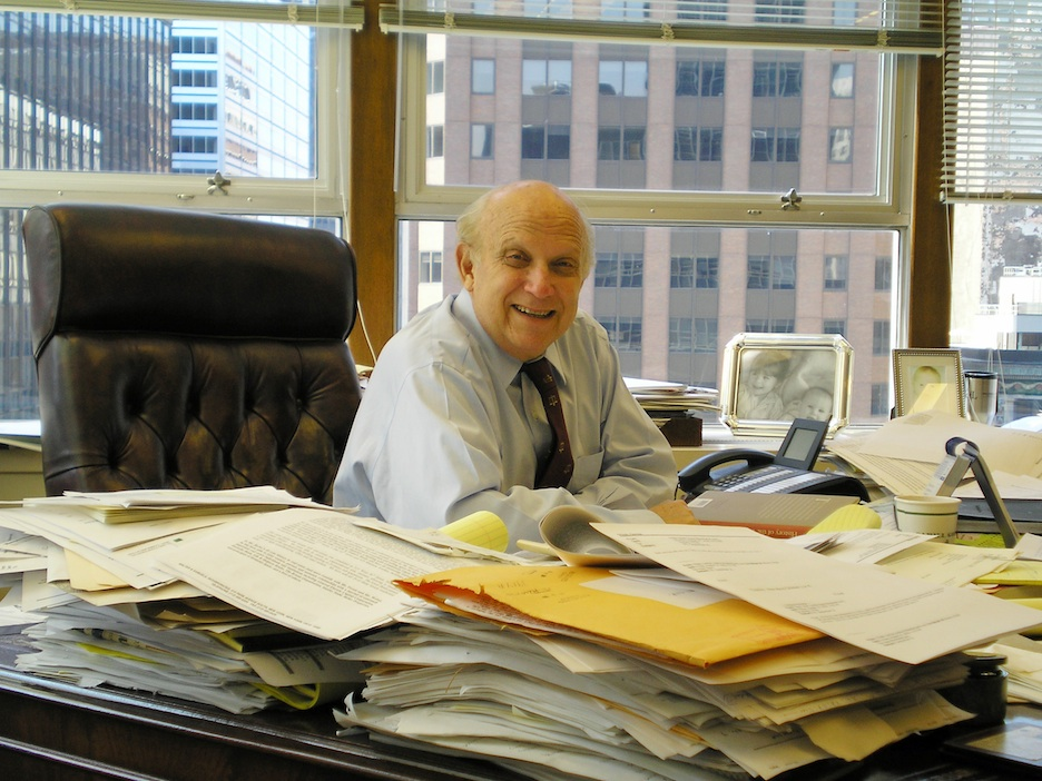 "Click photo to download. Caption: Constitutional law expert Floyd Abrams, pictured, says the Supreme Court's March 26 decision regarding the status of listing ""Jerusalem, Israel"" as the birthplace on Menachem Zivotofsky passport ""should not lead either side to be overconfident."" Credit: David Shankbone."
