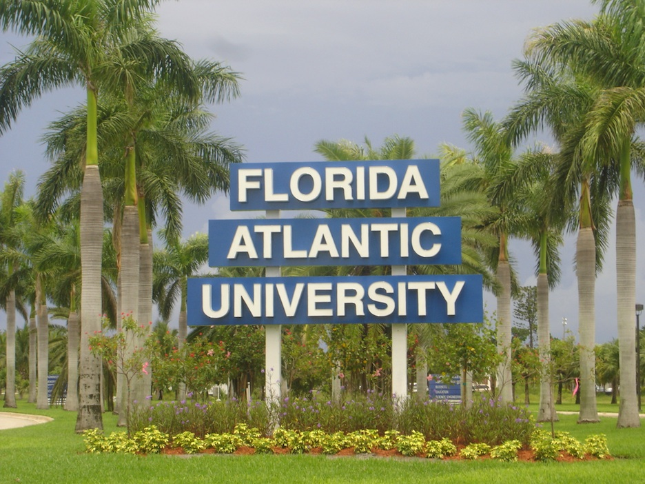 "Click photo to download. Caption: Recently at Florida Atlantic University, a pro-Palestinian group posted mock ""eviction"" notices on dorm room doors that contained a laundry list of anti-Israel propaganda points. Credit: KnightLago."