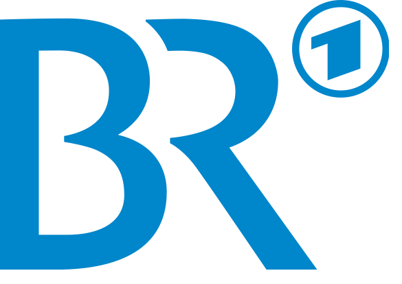 Click photo to download. Caption: The logo for Bayerischer Rundfunk (Bavarian Broadcasting), which will air a documentary on the story of Holocaust survivor Leslie Schwartz. Credit: Bayerischer Rundfunk.