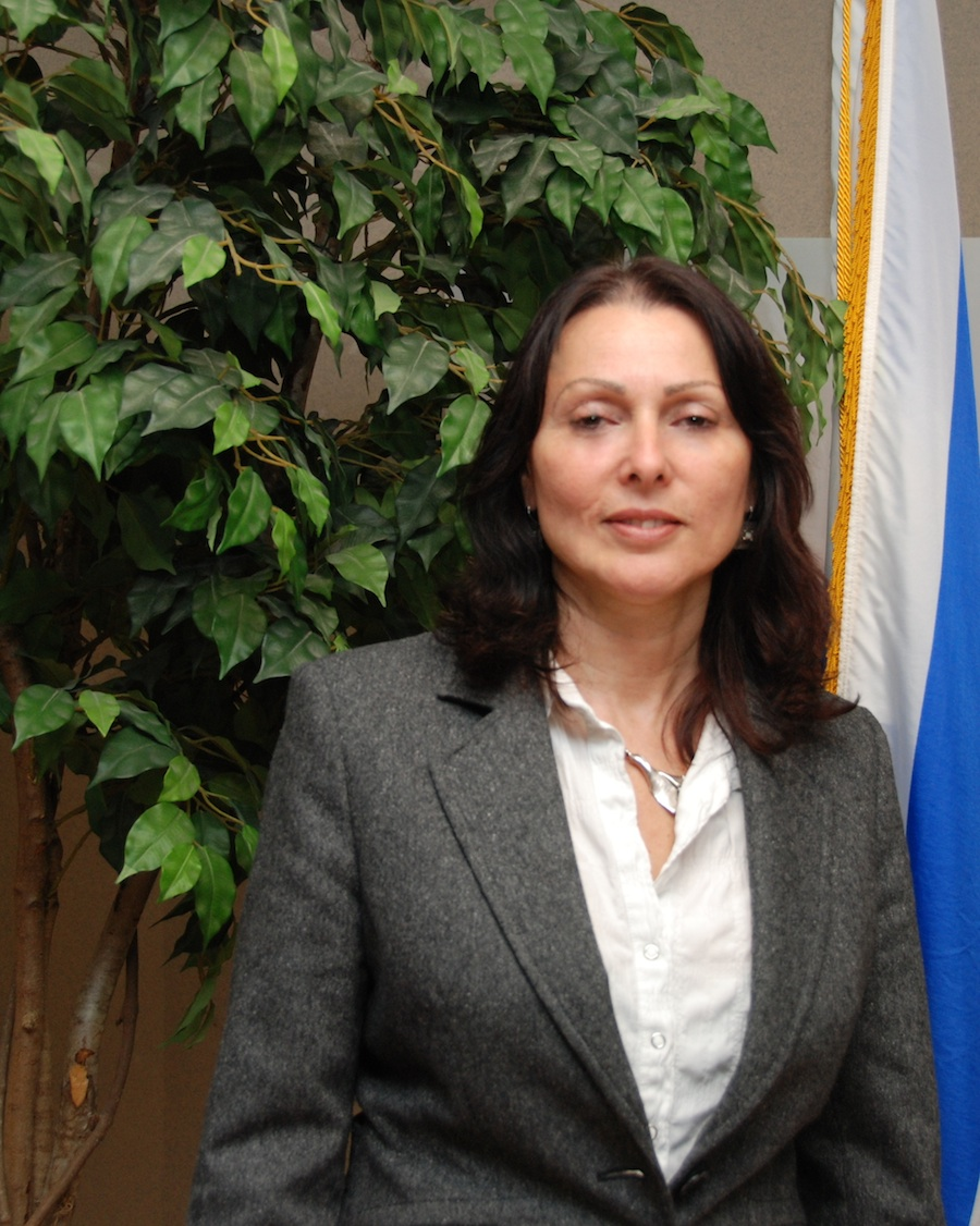 Click photo to download. Caption: Aviva Raz Shechter, Deputy Director General for the Middle East and Peace Process Division at the Israeli Ministry of Foreign Affairs. Credit: Maxine Dovere.