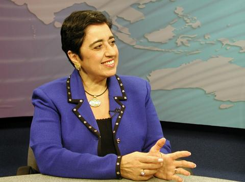 Click photo to download. Caption: Cypriot Foreign Minister Erato Kozakou-Marcoullis. Credit: Nathan Morley.