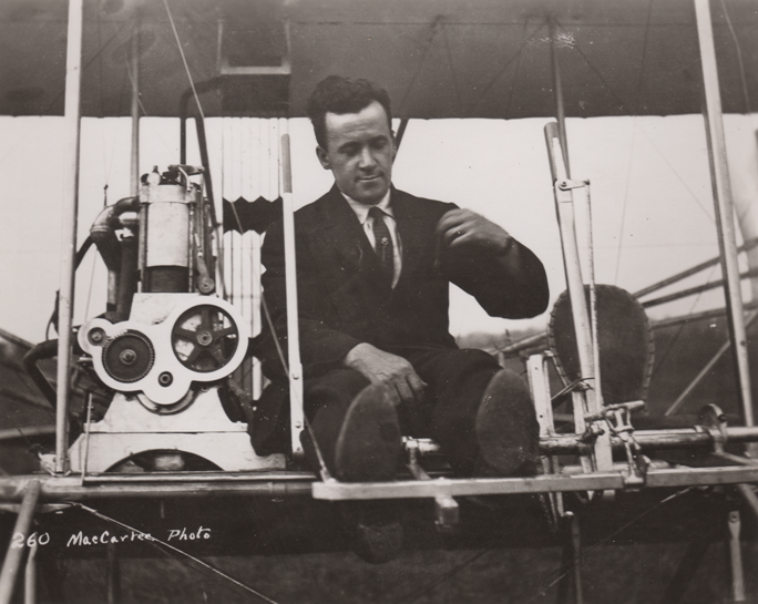 Click photo to download. Caption: Arthur Welsh. Credit: Courtesy of the College Park Aviation Museum.