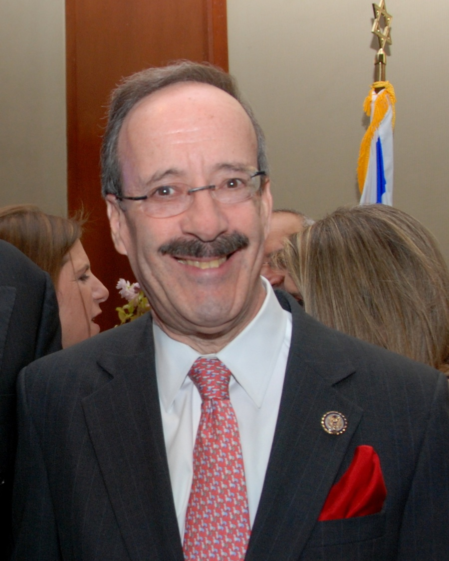 Click photo to download. Caption: New York Congressman Eliot Engel, a leading advocate for Jonathan Pollard's release. Credit: Maxine Dovere.