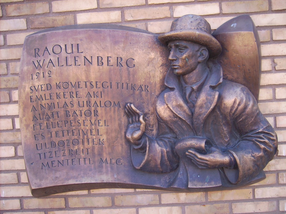 Click photo to download. Caption: The Raoul Wallenberg memorial in Linköping, Sweden. Credit: Harri Blomberg.